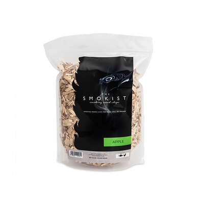 The Smokist  Apple  Wood Smoking Chips  160 cu. in.