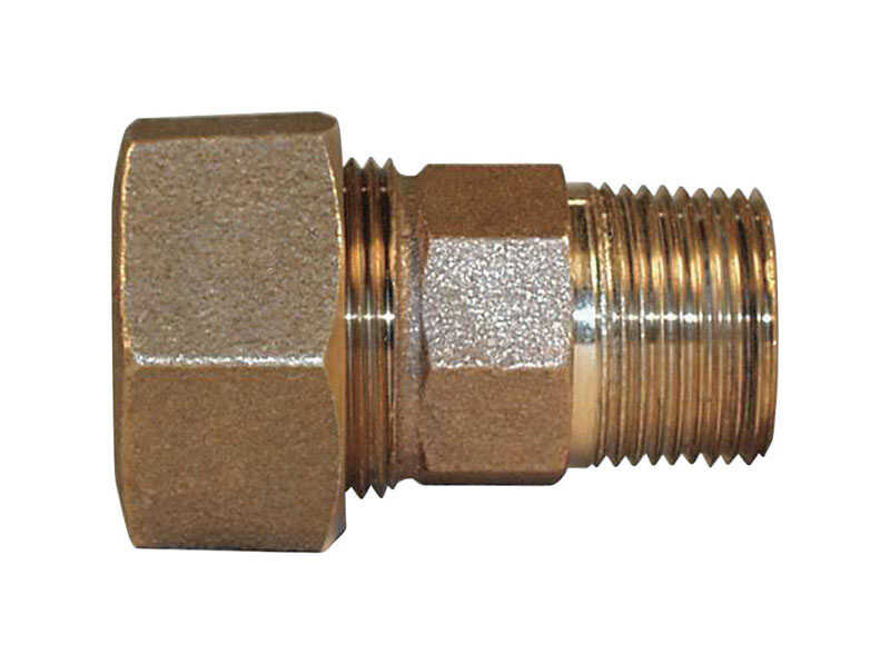 Legend  3/4 in. MIP   COMPRESSION  Bronze  Compression Coupling