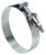 Ideal Tridon 3-1/4 in. 3-9/16 in. 325 Silver Hose Clamp Stainless Steel Band T-Bolt