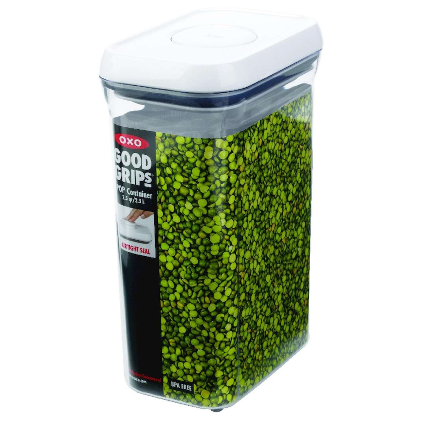 OXO  2.5 qt. Pop Container  1 pk Clear  Good Grips