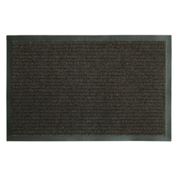 Sports Licensing Solutions Fanmats 28 in. L x 18 in. W Brown Ribbed Nonslip Utility Mat