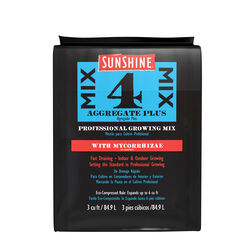 Sunshine 4 Aggregate Plus Organic Flower and Plant Growing Mix 3 cu. ft.