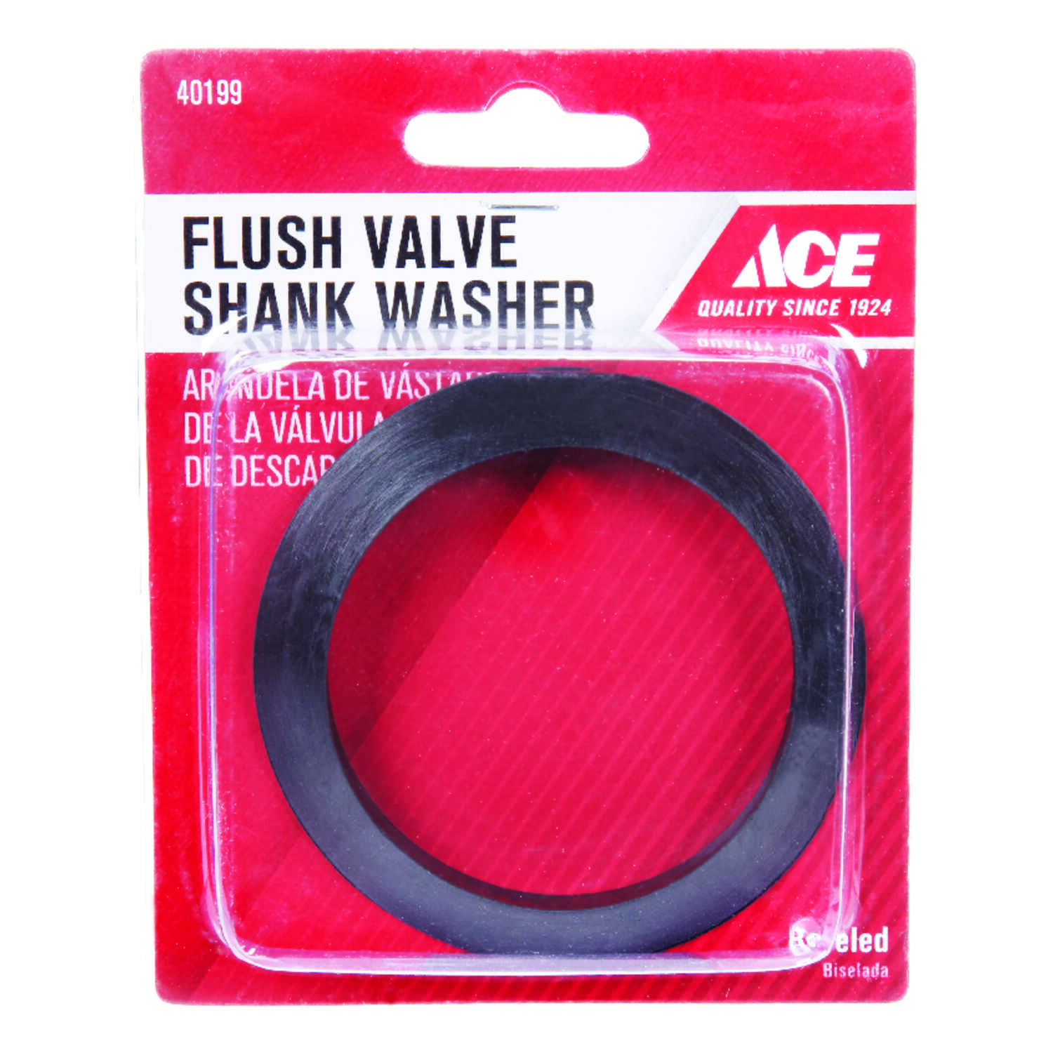 Ace  Flush Valve Shank Washer  Rubber