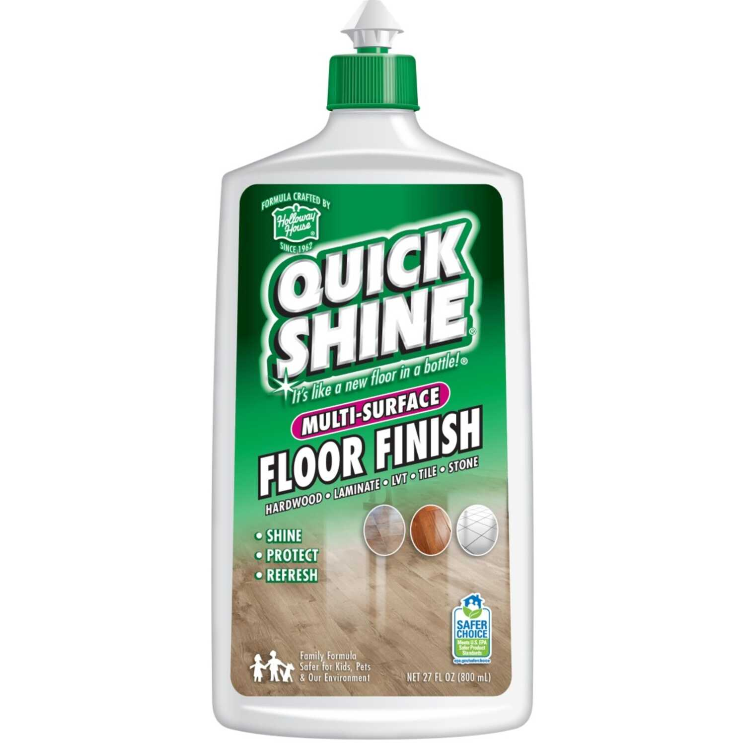 Holloway House  Quick Shine  Gloss  Floor Finish  Liquid  27 oz.