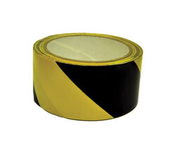C.H. Hanson  54 ft. L x 2 in. W Plastic  Floor Marking Tape  Black/Yellow