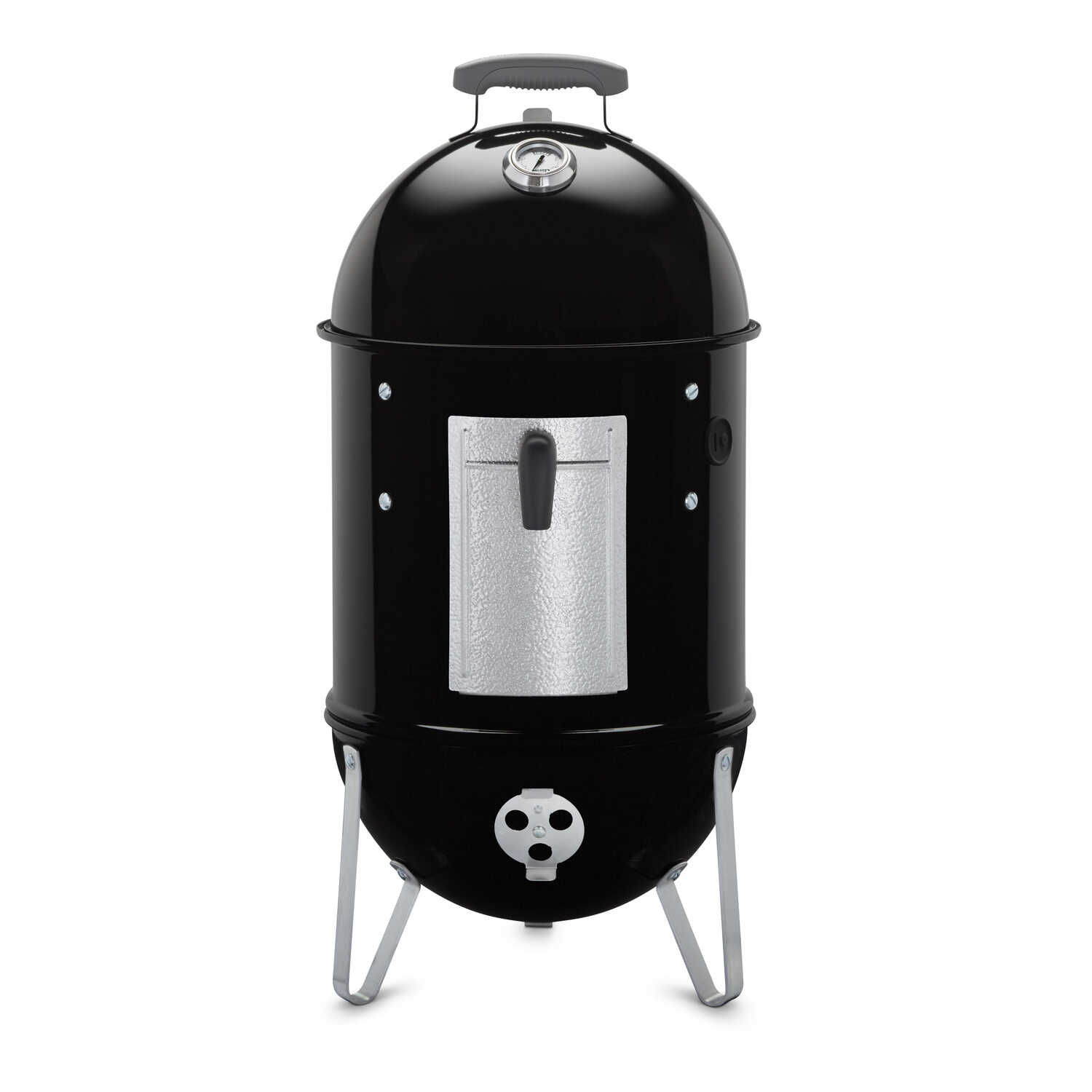 Weber  Smokey Mountain  Charcoal  14 in. W Smoker  Black