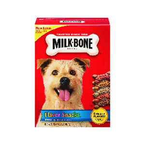 Milk Bone  Assorted Flavors  Dog  Biscuit  1 pk 60 oz. 60 oz.