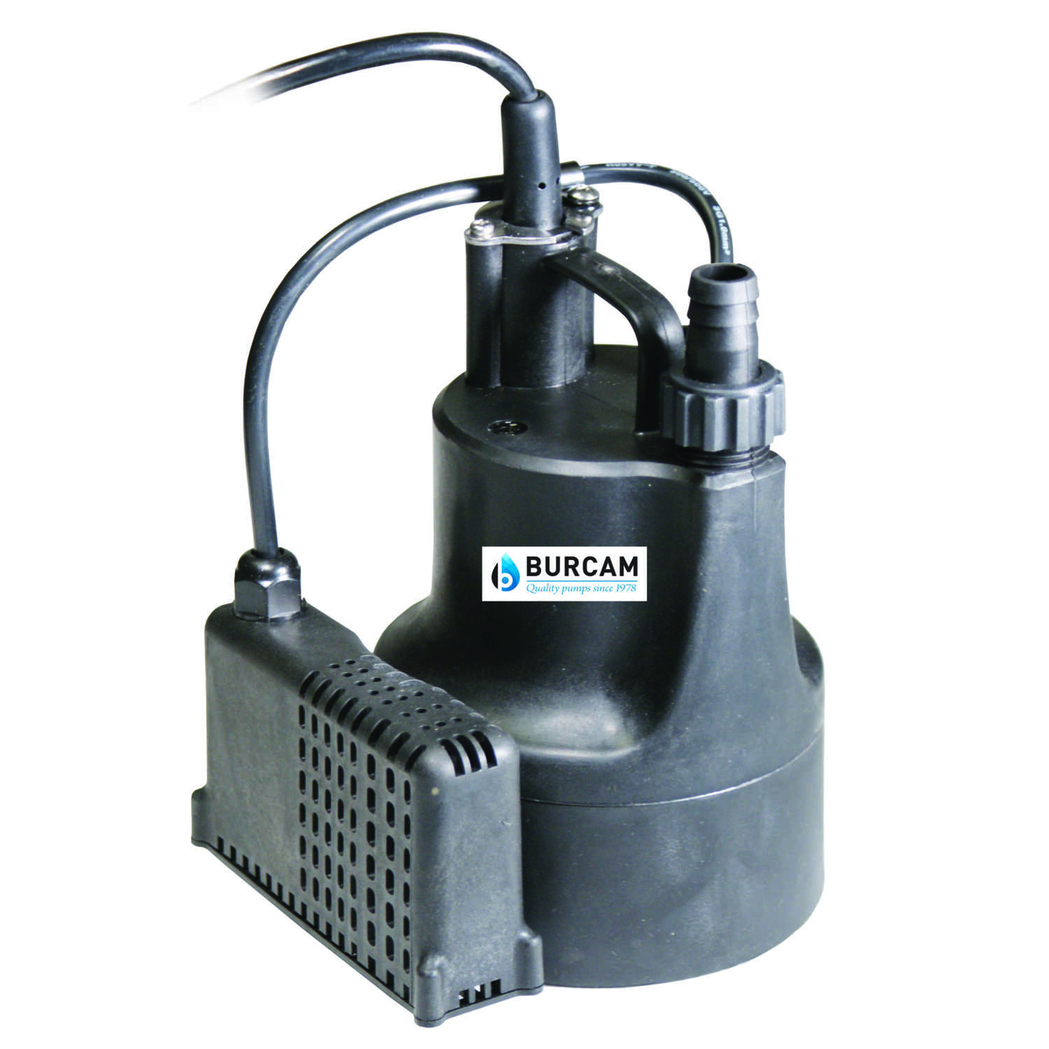 Burcam  Thermoplastic  Utility Pump  1/6 hp 740 gph 115 volts