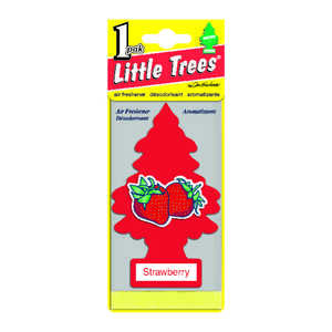 Little Trees  Strawberry  1 pk Car Air Freshener