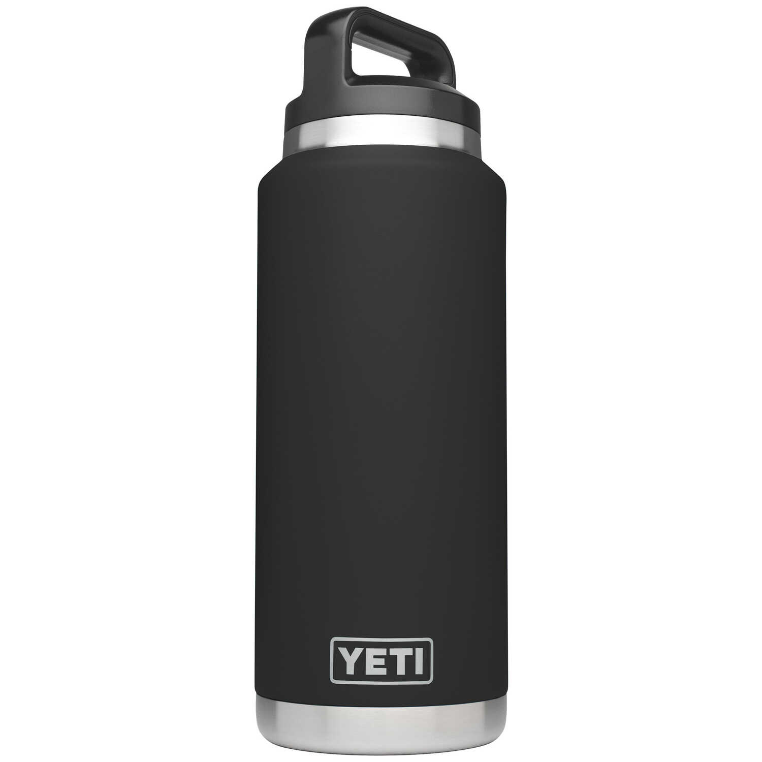 YETI  Rambler  Stainless Steel  Insulated Bottle  BPA Free 36 oz. Black
