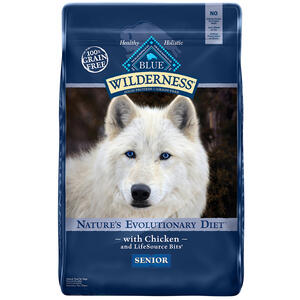 Blue Buffalo  Blue Wilderness  Chicken  Dry  Dog  Food  Grain Free 24 lb.