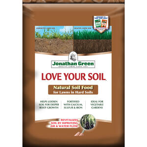 Jonathan Green  Love Your Soil  Organic 0-0-0  Lawn and Garden Food  For All Grass Types 18 lb. 5000