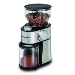 Hamilton Beach  Black/Silver  Stainless Steel  14 cup Coffee Grinder