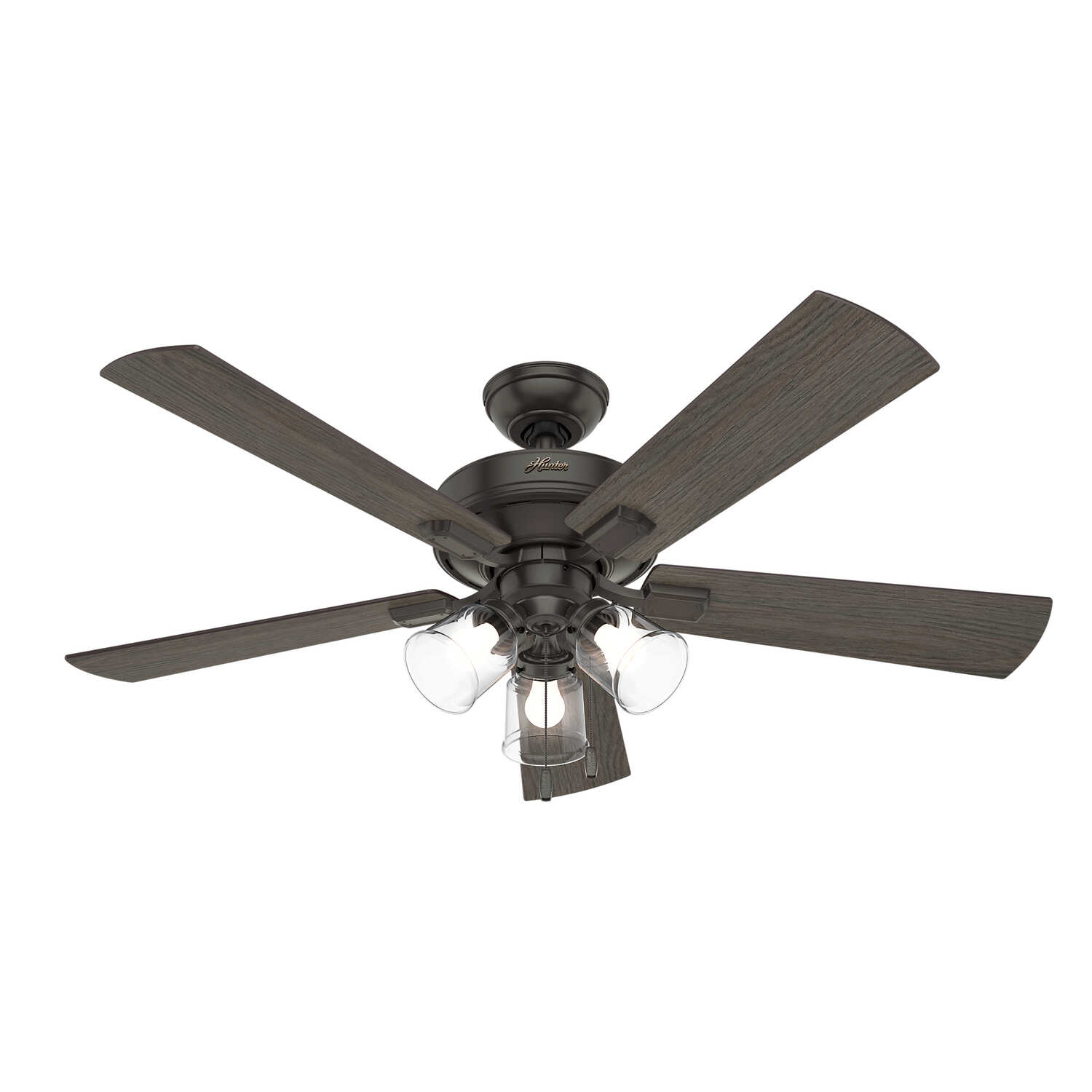 Hunter  52 in. 5 blade Indoor  Bronze  Ceiling Fan