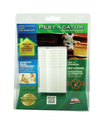 Pest-A-Cator  Plug-In  Electronic Pest Repeller  For Rodents 1 pk
