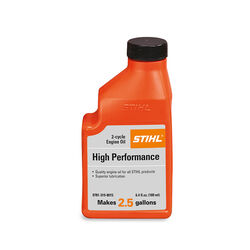 STIHL  High Performance  2-Cycle  Engine Oil  6.4 oz.