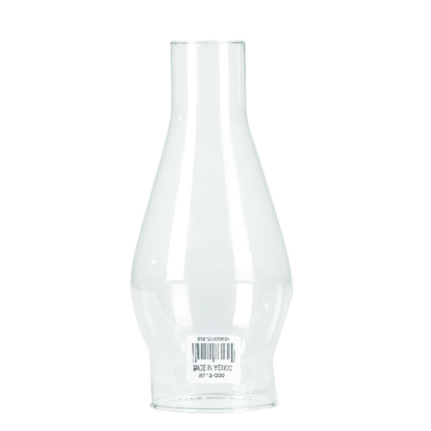 Westinghouse  Clear  Glass  1 pk Chimney Glass
