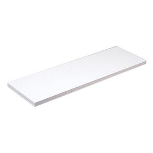 Knape & Vogt  10 in. H x 10 in. W x 24 in. D White  Melatex Laminate/Particle Board  Shelf
