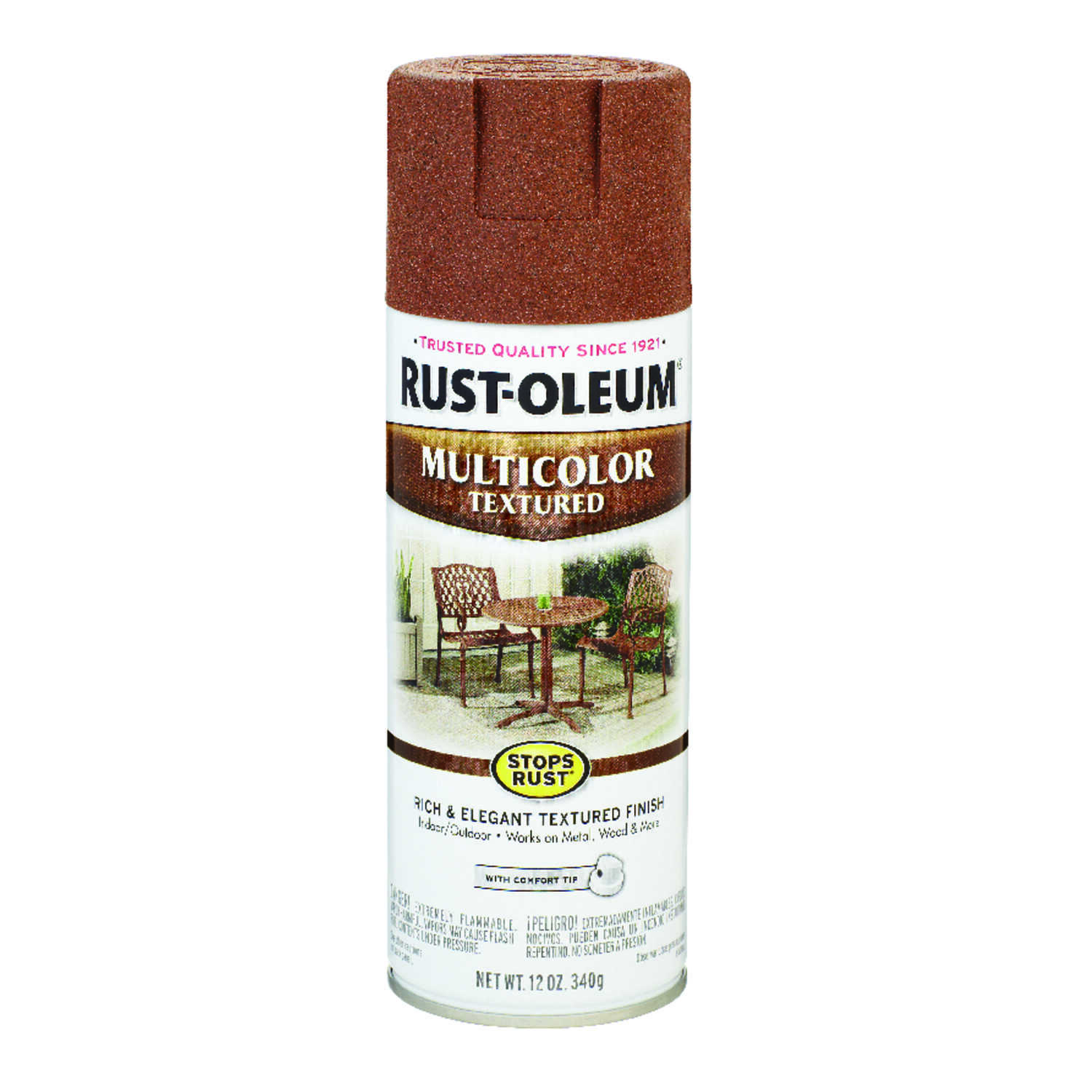 Rust-Oleum  Stops Rust  Rustic Umber  12 oz. Spray Paint