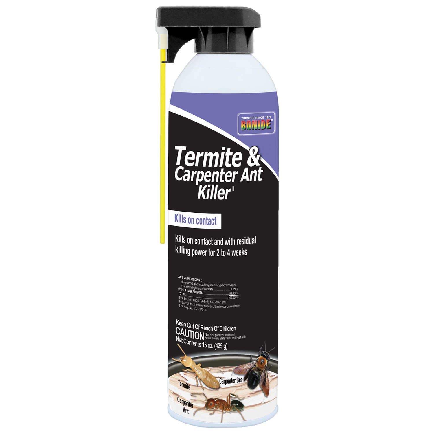 Bonide  Termite  Carpenter Ant  Insect Killer  15 oz.