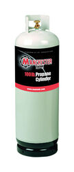 Manchester Tank  100 lb. capacity Steel  Propane Cylinder