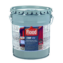 Flood  CWF-UV  Matte  Natural  Water-Based  Wood Finish  5 gal.