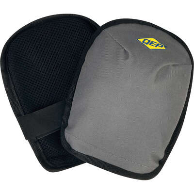 QEP  Foam/Nylon  Washable  Knee Pads  Gray  One Size Fits All