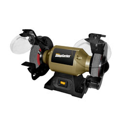 Rockwell  ShopSeries  6 in. Bench Grinder  1/2 hp 2 amps 3450 rpm