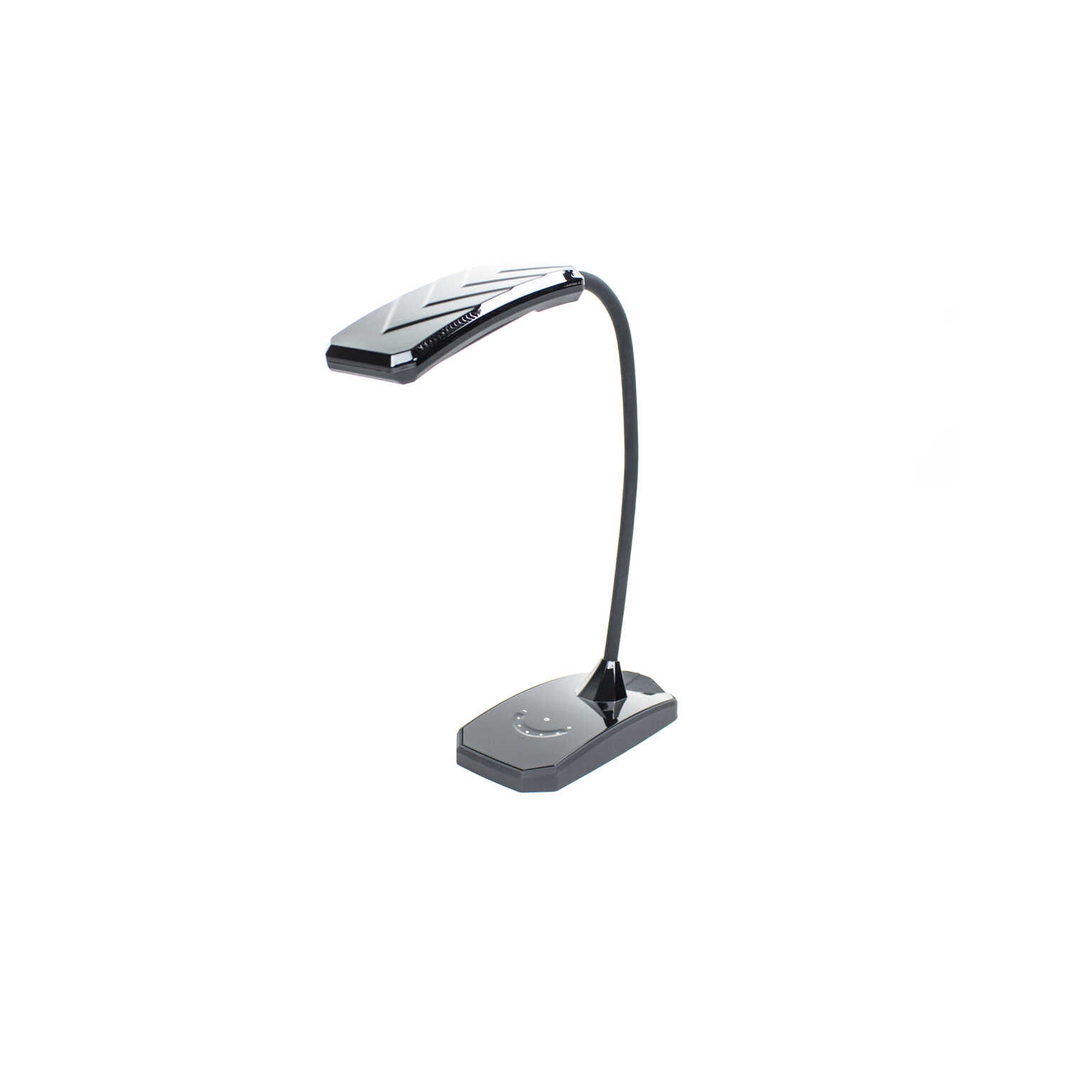 Newhouse  3.5 in. Semi-Gloss  Black  Desk Lamp