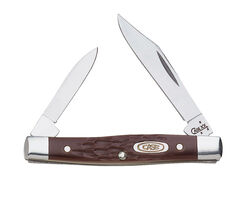 Case  Working Small Pen  Brown  Stainless Steel  2.63 in. Pocket Knife