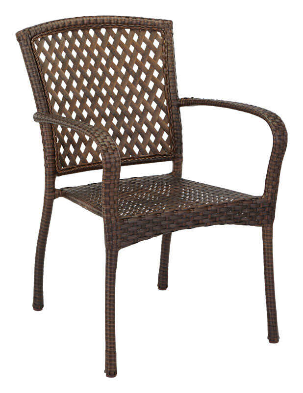 Living Accents  1 pc. Steel  Powder Coated  Bistro Chair