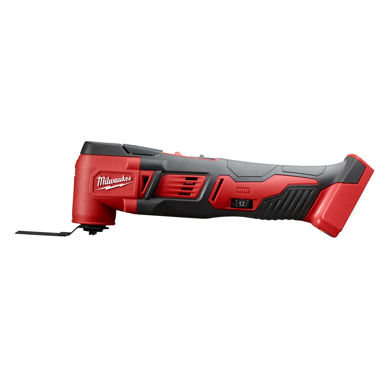 Milwaukee  M18  18 volt Cordless  Oscillating Multi-Tool  18000 opm Red  1 pc.