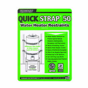 Quick Strap  Water Heater Restraints