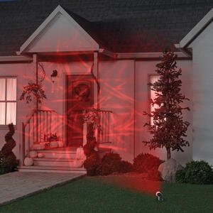 Gemmy  Spider Web  Lightshow Projector  12 in. H x 5.5 in. W 1 pk