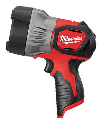Milwaukee  TrueView  750 lumens LED  Battery Operated  Handheld  Spot Light