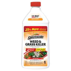 Spectracide  Weed and Grass Killer  Concentrate  40 oz.