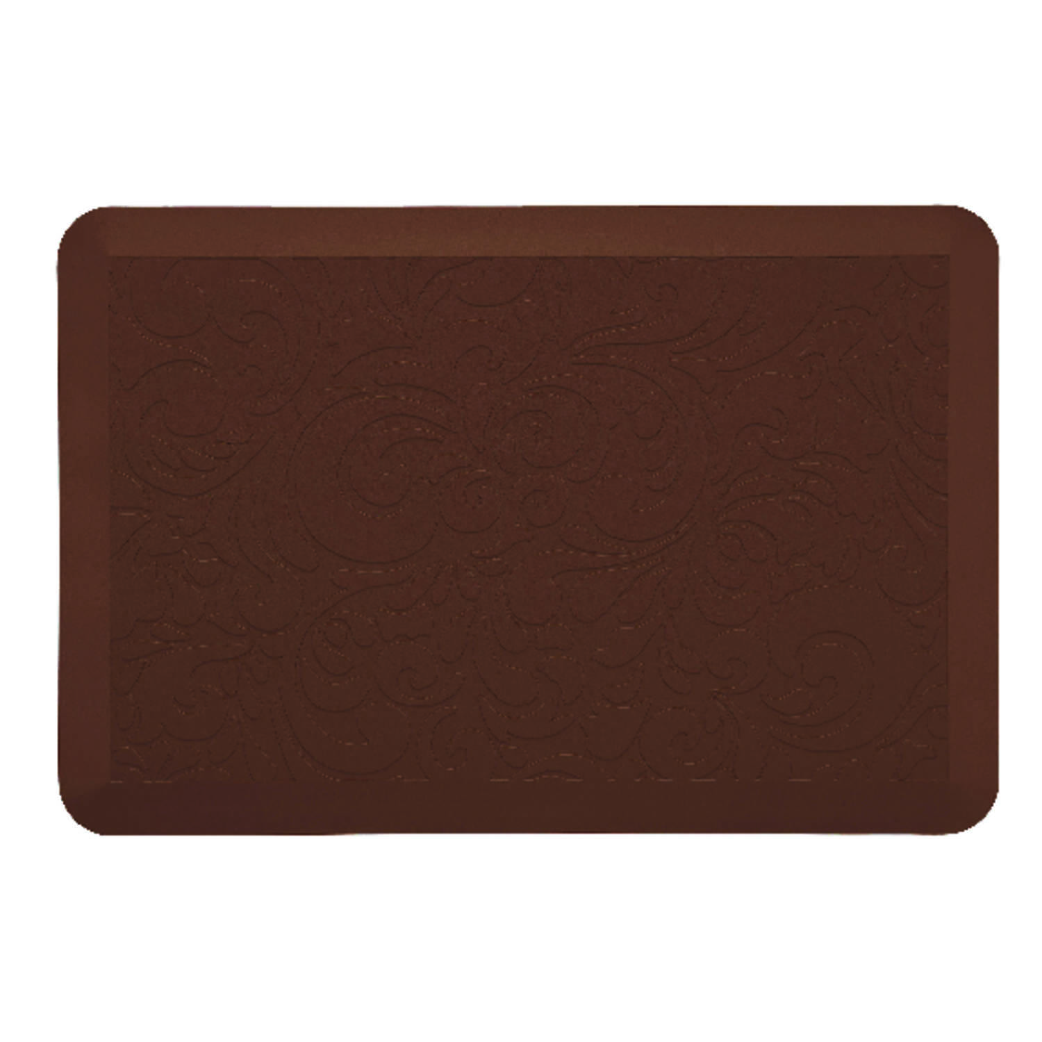 Comfort Co.  Brown  Polyurethane  Nonslip Anti Fatigue Mat  30 in. L x 20 in. W