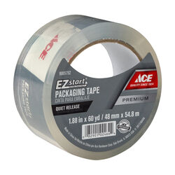 Ace  1.88 in. W x 60 yd. L Moving Tape  Clear
