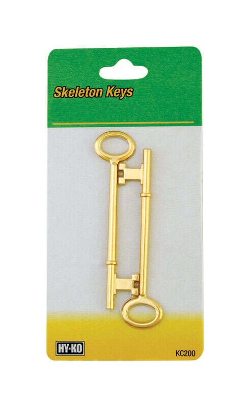 Hy-Ko  Skeleton  House/Office  Key Blank  EZ# KC200  Double sided