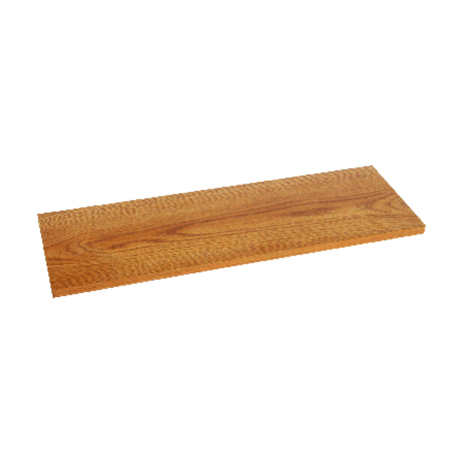 Knape & Vogt  8 in. H x 8 in. W x 48 in. D Oak  Melatex Laminate/Particle Board  Shelf