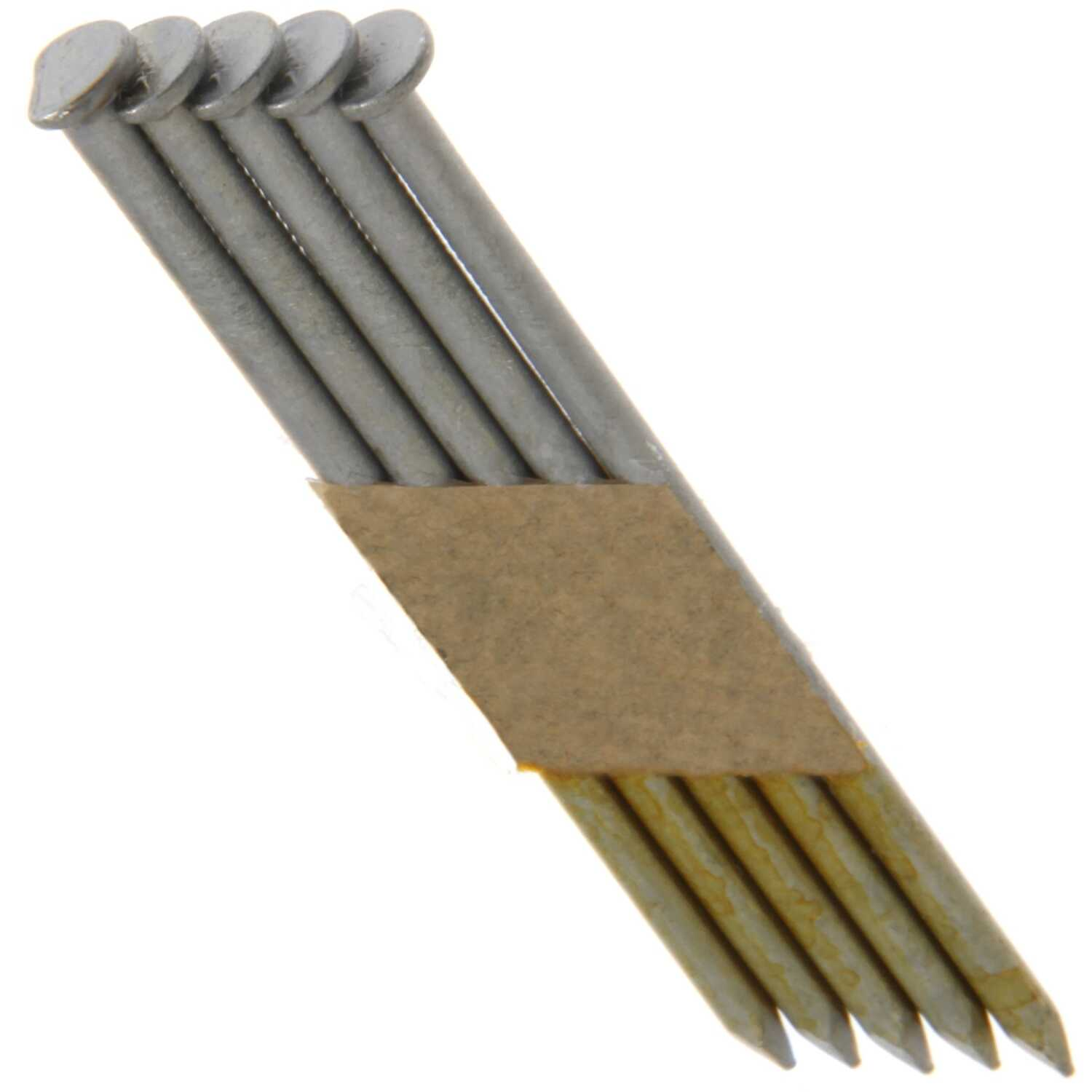 Grip-Rite  30 deg. 10-1/4 Ga. Smooth Shank  Angled Strip  Framing Nails  3-1/4 in. L x 0.13 in. Dia.