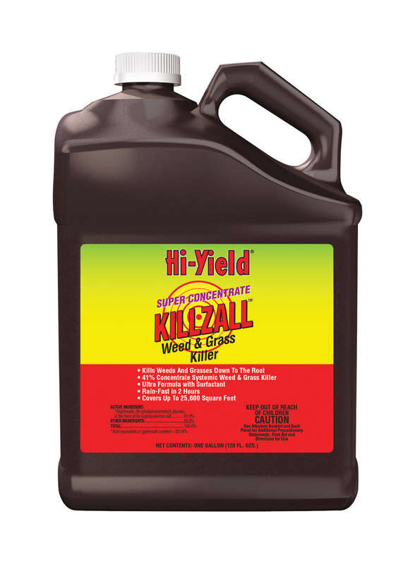 Hi-Yield  Killzall  Weed and Grass Killer  Concentrate  1 gal.