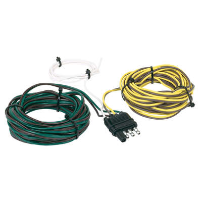 Hopkins  4 Flat  Trailer Y Wiring Harness  25 ft.