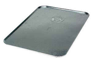 Hopkins  Galvanized Metal  25 X 36  Rectangular  Oil Drip Tray