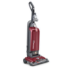 Hoover  WindTunnel MAX  Bagged  Corded  Upright Vacuum  12 amps Red  HEPA
