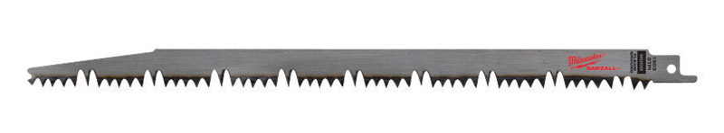 Milwaukee  SAWZALL  12 in. L x 1 in. W Carbon Steel  Pruning  Reciprocating Saw Blade  1 pk 5 TPI