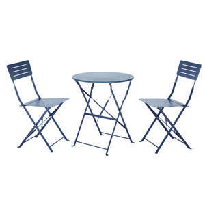 Living Accents  3 pc. Richmond  Gray  Bistro Set
