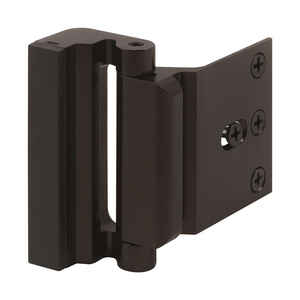 Prime-Line  Oil Rubbed Bronze  Aluminum  Entry Door Blocker  1 pk