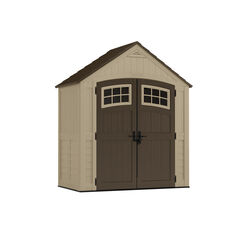Suncast  Sutton  8.5  H x 7  W x 4  D Beige  Resin  Storage Shed