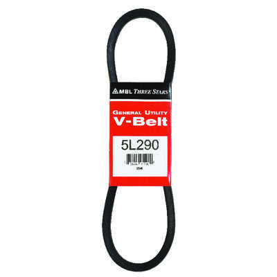 Mitsuboshi  MBL FHP  Standard  General Utility V-Belt  0.63 in. W x 29 in. L For All Motors